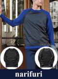 narifuri ナリフリ Mini-rip garter knit (NF989)