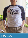 RVCA (ルカ)  BOMBER ラグラン BASEBALL TEE