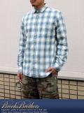BrooksBrothers ブルックスブラザーズ チェックワークシャツ