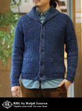 RRL SHAWL COLLOR KNIT