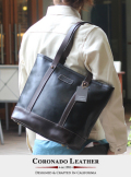 COLONADO LEATHER コロナドレザー Horween Travel Tote Black 【MADE IN USA】