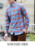 INDIVIDUALIZED SHIRTS インディヴィジュアライズドシャツ CHECK MIX スタンダードフィット ORG