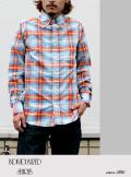 INDIVIDUALIZED SHIRTS インディヴィジュアライズドシャツ マドラスチェックシャツ スタンダードフィット
