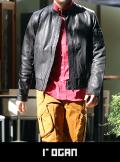 rogan ローガン Single Leather blouson