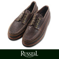 RUSSELL MOCCASIN ラッセルモカシン ONEIDA LACEIP MOCCASIN  CHOCOLATE BISON(paper別注)