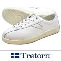 TRETORN トレトン NYLITEナイライト レザー WHITE /WHITE
