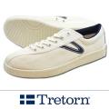 TRETORN トレトン NYLITEナイライト キャンバス WHITE /NAVY