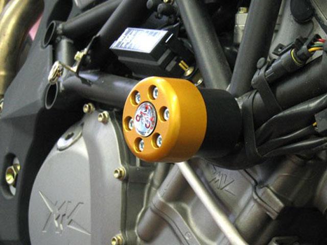 metisse ダンパー内蔵クラッシュパッド X-Pad MV Augusta Brutale 1000