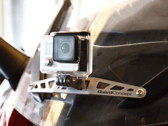 ワンダーリッヒ アクションカメラホルダー BMW K1200GT('06-) / K1300GT