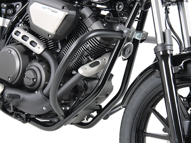ヘプコ&ベッカー 正規品 エンジンガード ブラック Yamaha Bolt / ボルト