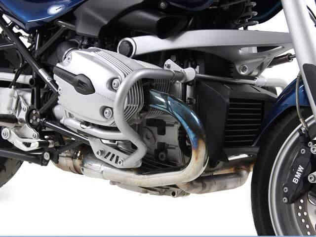 ヘプコ&ベッカー 正規品 エンジンガード R1200R('11-) シルバー