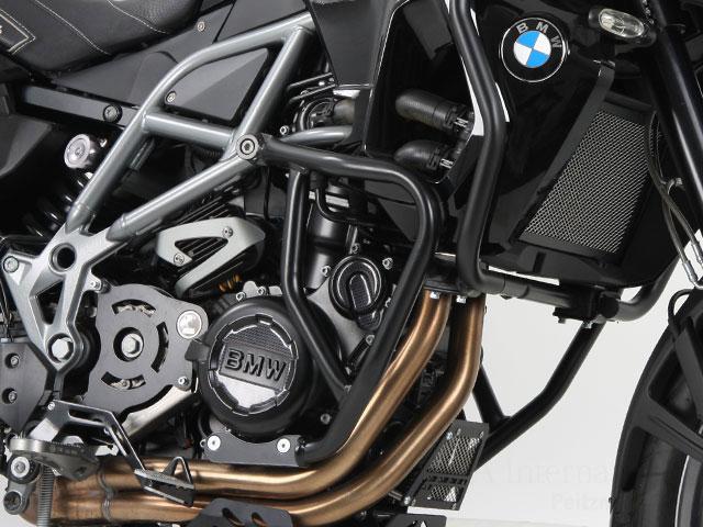 ヘプコ&ベッカー 正規品 エンジンガード F650GS/F700GS/F800GS ブラック