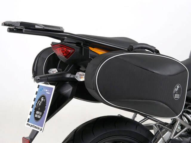 ヘプコ&ベッカー 正規品 サイドソフトケースホルダー(キャリア)「C-Bow」 Kawasaki Versys ('10-)