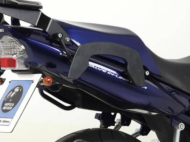 ヘプコ&ベッカー 正規品 サイドソフトケースホルダー(キャリア)「C-Bow」 SUZUKI GSF1250 Bandit ('07-)