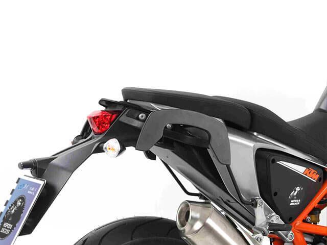 ヘプコ&ベッカー 正規品 サイドソフトケースホルダー(キャリア)「C-Bow」 KTM 690 Duke