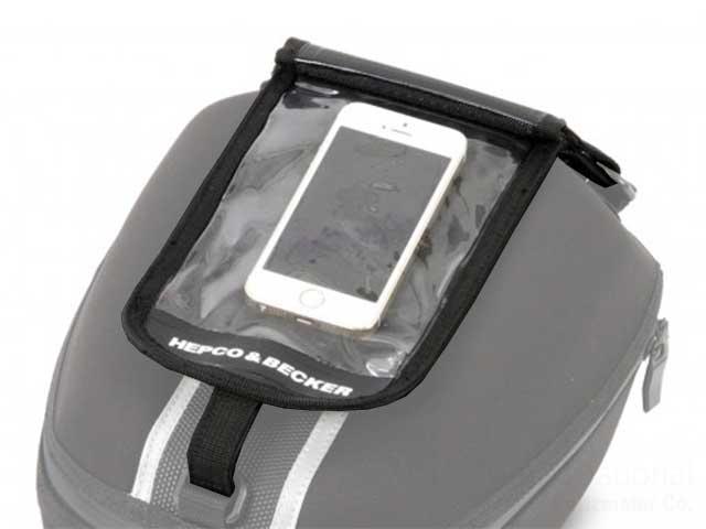 ヘプコ&ベッカー 正規品 タンクバック「Street」「ROYSTER」用オプション スマホ用バック