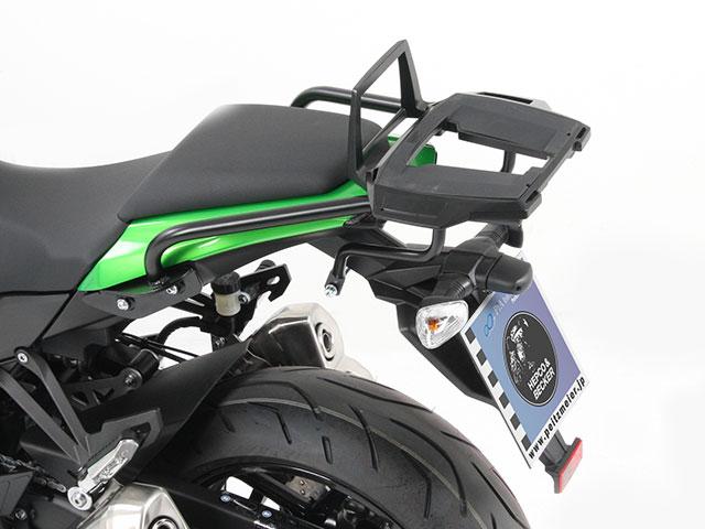 ヘプコ&ベッカー 正規品 トップケースホルダー(キャリア) (アルミラック)ブラック Kawasaki Ninja1000('11-)