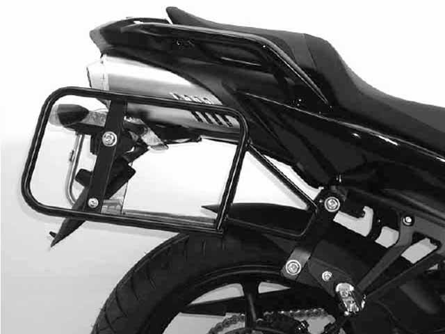 ヘプコ&ベッカー 正規品 YAMAHA FZ6 / Fazer S サイドケースホルダー(キャリア)(Lock it system) ブラック