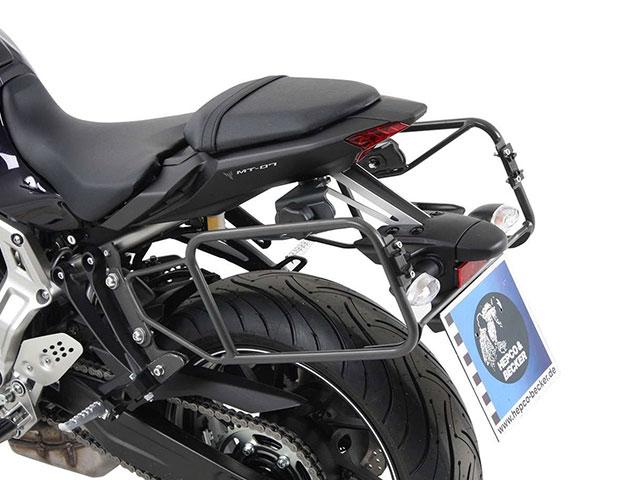 ヘプコ&ベッカー 正規品 サイドケースホルダー(キャリア) (Lock it system) ダークグレー Yamaha MT-07