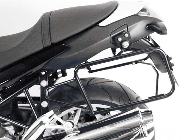 プコ&ベッカー 正規品 BMW R1200R('-10) サイドケースホルダー(キャリア) (Lock it system) ブラック