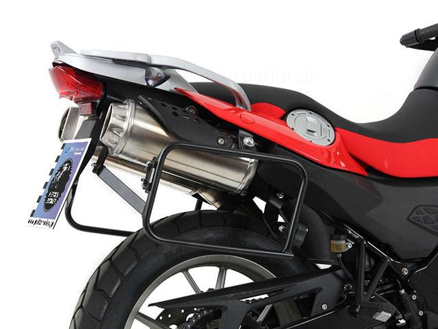 ヘプコ&ベッカー 正規品 サイドケースホルダー(キャリア) (Lock it system) ブラック BMW G650GS