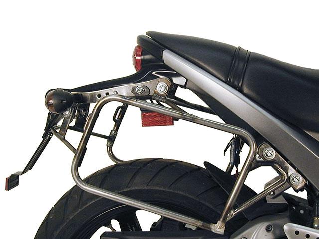 ヘプコ&ベッカー 正規品 BUELL Lightning XB 9 SX, XB 12 S, XB 12 SG Lowサイドケースホルダー(キャリア) (Lock it system) ブラック