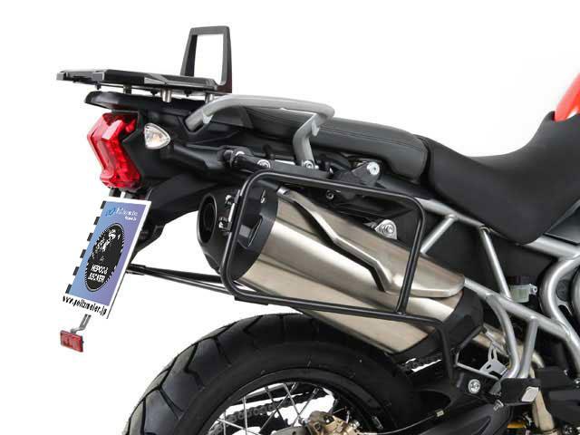 �إץ����٥å��� ������ �����ɥ������ۥ����(����ꥢ) (Lock it system) �֥�å� Triumph Tiger 800/XC