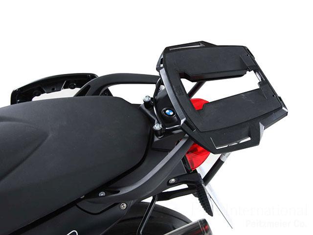 ヘプコ&ベッカー 正規品 BMW F800R トップケースホルダー(キャリア) (アルミラック) ブラック