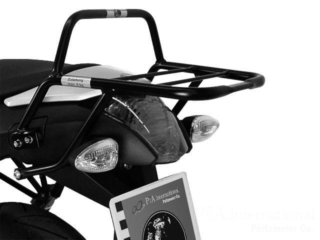 ヘプコ&ベッカー 正規品 BMW R1200R('11-'14) トップケースホルダー(キャリア) パイプタイプ ブラック