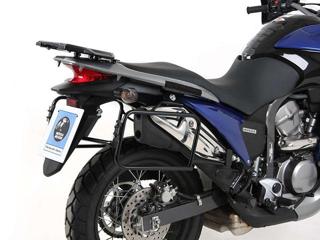 ヘプコ&ベッカー 正規品 HONDA XL700V Transalp サイドケースホルダー(キャリア)(Lock it system) ブラック
