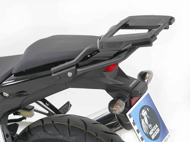 ヘプコ&ベッカー 正規品 HONDA CBR400R / CBR500R トップケースホルダー(キャリア) (アルラック) ダークグレイ