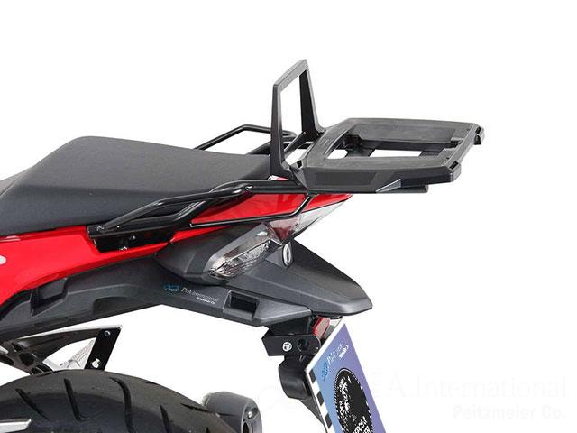 ヘプコ&ベッカー 正規品 トップケースホルダー(キャリア) (アルミラック) ブラック ホンダ VFR800F