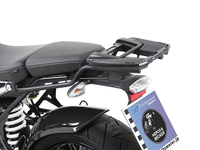 ヘプコ&ベッカー 正規品 BMW RnineT トップケースホルダー(キャリア) (イージーラック) ブラック