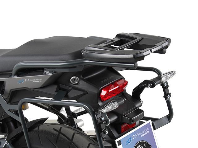 ヘプコ&ベッカー 正規品 Honda VFR800X Crossrunner('15-) トップケースホルダー(キャリア) (イージーラック) ブラック