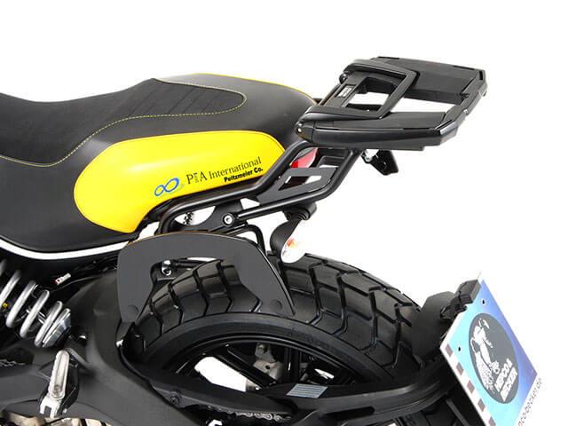 """ヘプコ&ベッカー 正規品 Ducati Scrambler / スクランブラー トップケースホルダー(キャリア) """"イージーラック"""""""