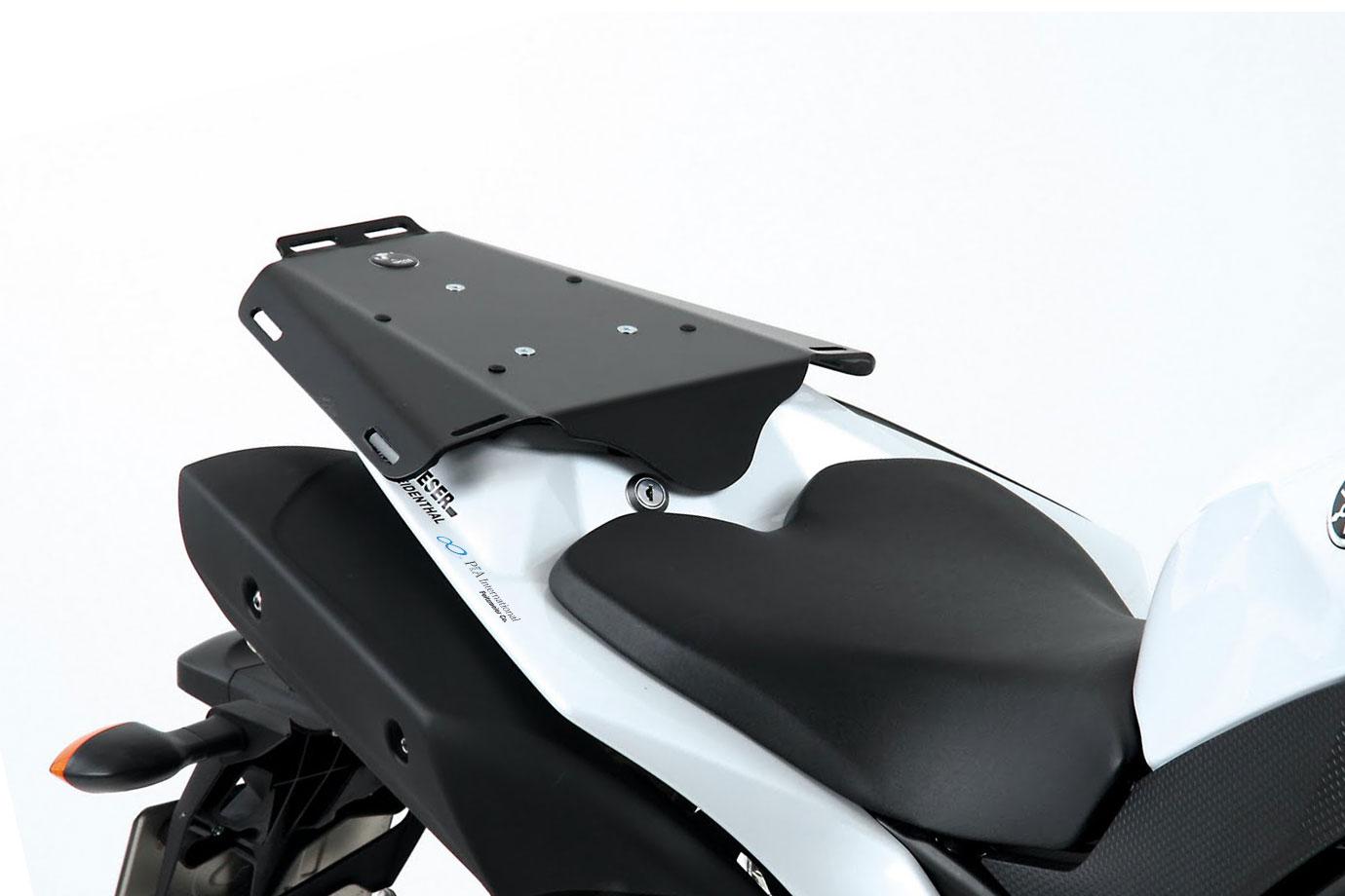 ヘプコ&ベッカー 正規品 タンデムシート置換型リアラック「Speedrack EVO」 YAMAHA YZF-R1 ('09-'14)