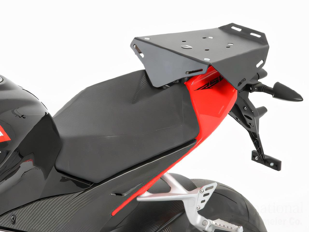 ヘプコ&ベッカー 正規品 タンデムシート置換型リアラック「Speedrack EVO」 aprilia RSV4 ('11-)
