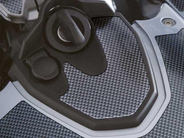 ��������å� F650/700/800GS 3D�������饦��ɥѥå� Carbon Style