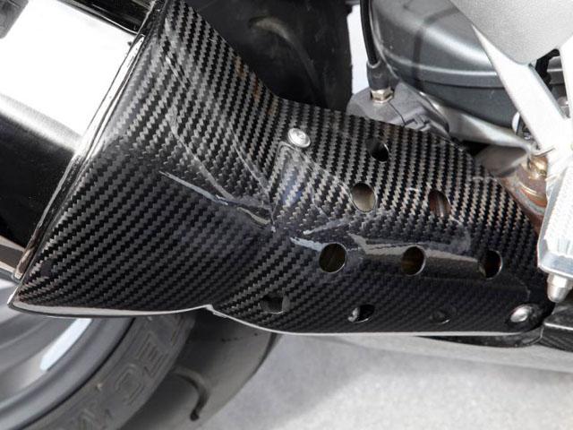 ワンダーリッヒ カーボンマフラーヒートガード BMW K1300S/R