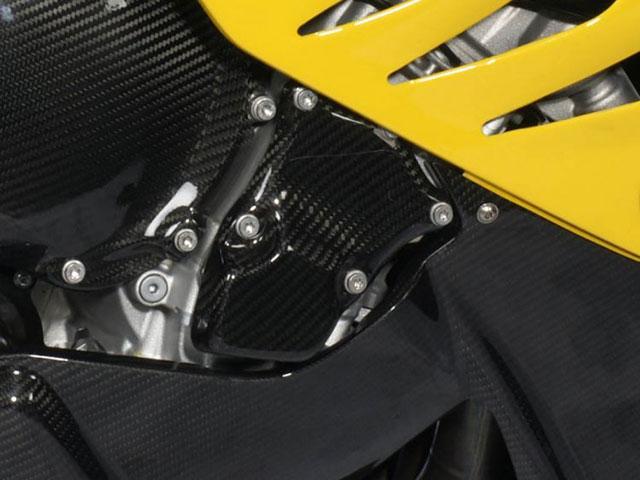 S1000RR用カーボンエンジンカバー