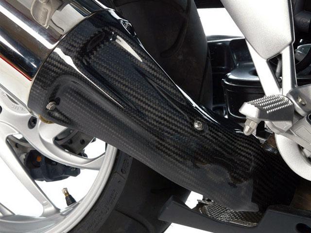 カーボンマフラーコネクティングカバー BMW K1200R/K1200R Sport/K1200S