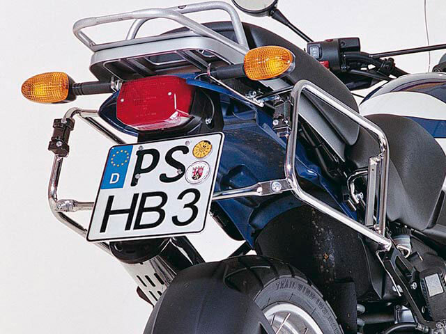 ヘプコ&ベッカー 正規品 サイドケースホルダー(キャリア) ブラック BMW R1150GS