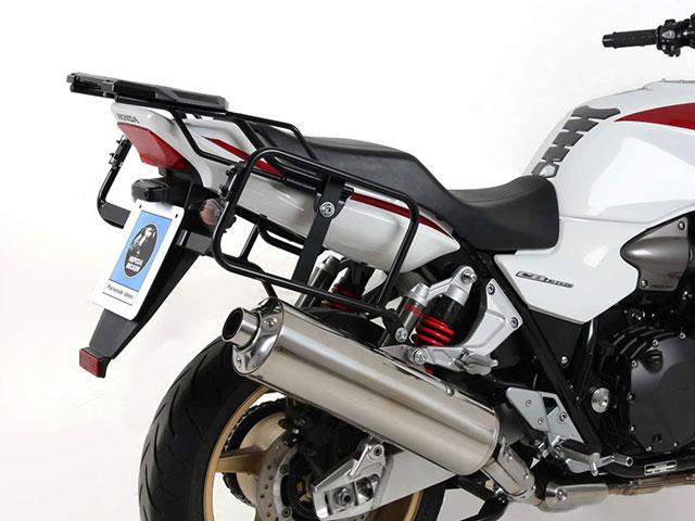 ヘプコ&ベッカー 正規品 HONDA CB1300('10-) サイドケースホルダー(キャリア) (Lock it system) ブラック