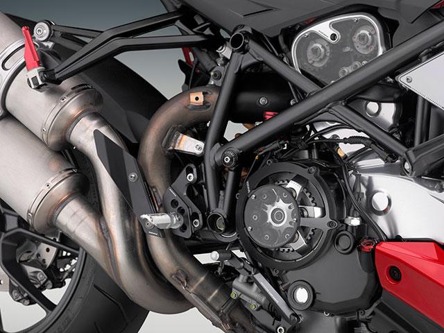 rizoma / リゾマ 正規品 マフラーヒートガード Ducati Streetfighter用