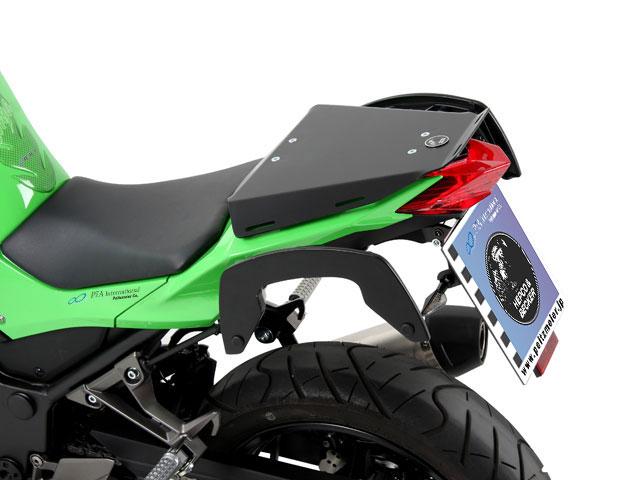 ヘプコ&ベッカー 正規品 タンデムシート置換型リアラック「Speedrack EVO」 Kawasaki Ninja250('13-) / Z250
