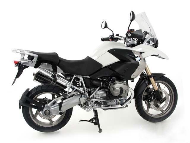 ヘプコ&ベッカー 正規品 サイドソフトケースホルダー(キャリア)「C-Bow」 BMW R1200GS('08-'12)