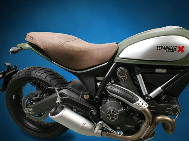 Sargent ������ Ducati Scrambler��'15-�� 1�ԡ����쥮��顼������ �֥饦��쥶��
