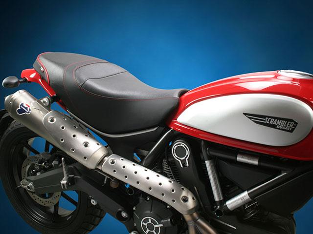 Sargent シート Ducati Scrambler('15-) 1ピースレギュラーシート パイピング:カスタム