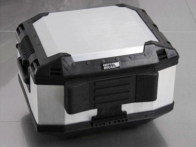 ヘプコ&ベッカー 正規品 Xplorer トップケース TC45 / AluStandard トップケース35用 バックレスト
