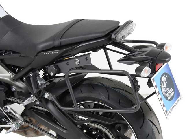 ヘプコ&ベッカー 正規品 サイドケースホルダー(キャリア) (Lock it system) ダークグレー Yamaha MT-09